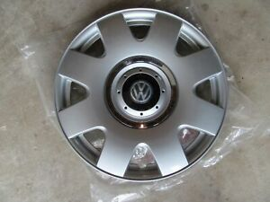 New 15 Inch Snap On Silver Hub Cap For 2002 2005 Vw Beetle Wheel Cover Hubcap