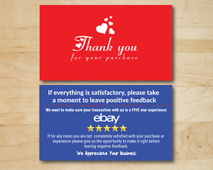 100 Ebay Thank You For Your Purchase Shipping Label Labels 3 5x2 uv Gloss X2
