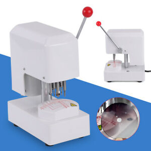 90w Automatic Optical Lens Driller Drilling Punching Eyeglass Lens Punch Machine