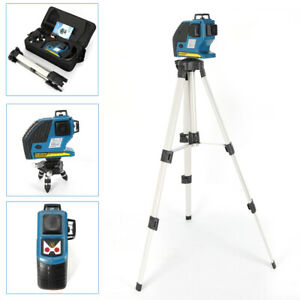 12 Line Green Laser Level Self Leveling 3d 360 Rotary Cross Measure Tool Best