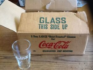 Vintage Coca Cola Fountain Glasses 5