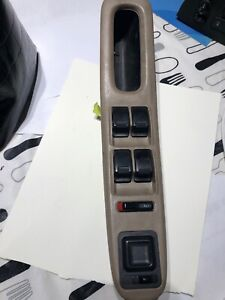 Honda Accord Master Power Driver Left Window Door Lock Control Switch Tan 94 97