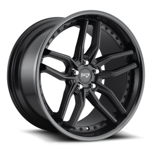 19 Niche Methos M194 Black Wheels Rims Fits Ford Mustang Gt Pp Ecoboost S550