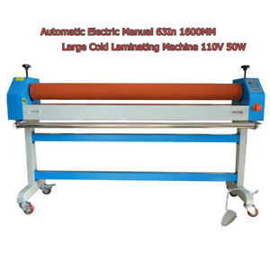 Intbuying Automatic Electric Large Cold Laminating Machine Manual 63in 1600mm