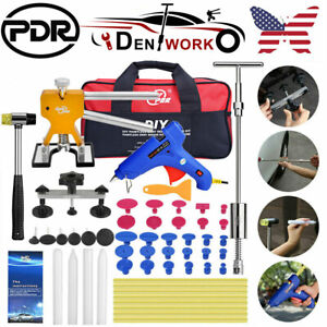 36pcs Pdr Car Paintless Dent Repair Kit Hail Removal Bridge Puller Lifter Tools