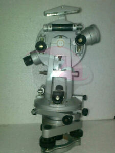 Vernier Transit Theodolite With Tripod Stand Levels Equipment Free Shipping