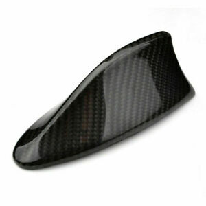 Universal Fitted Real Carbon Fiber Shark Fin Roof Decoration Antenna Style B