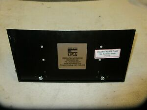 14 19 Corvette Stingray Front License Plate Removable Insert New Scratch And Den