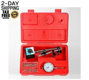 Tr72020 Dial Indicator Set Test 001 With On off Magnetic Base Supply Magnetic