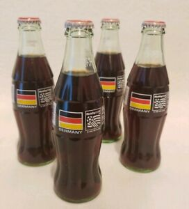 4 Coca Cola World Cup SOCCER USA 94 GERMANY 8OZ COCA - COLA Bottle