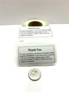 Custom Thank You Labels Personalized Stickers For Business Shipping Etc