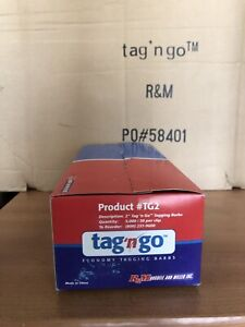 Clear 2 Clothing Price Label Tagging Tag Gun Fasteners 100 000 Qty Full Case