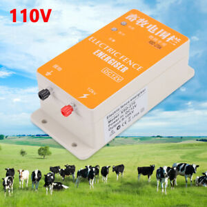 Solar Electric Fence Charger Ranch specific Electronic Fence Product Cattle Hot