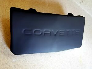 Primered Abs Plastic C4 84 1990 Corvette Front License Plate Cover Filler New