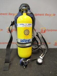 Draeger Drager Scba System Air Supply Tank Harness 153 Bar 2216psi M4927