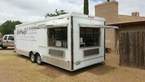 24 Concession Trailer catering Kitchen