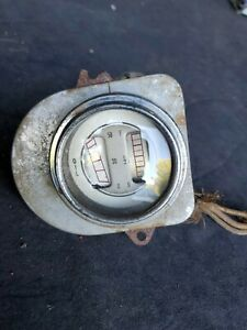 Vintage 1935 36 Ford Deluxe Truck Fuel Oil Guage Cluster Dual Gauge Oem
