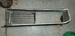 1968 Dodge Charger Grille 68 1969 Left Driver Headlight Bucket Center Repair A