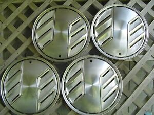 1983 1984 Ford Mustang Hubcaps Wheelcovers Center Cap Antique Vintage Classic