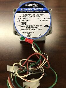 Superior Electric Slo syn Stepping Motor