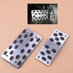 Sports Racing Accelerator Car Auto Brake Pad Pedals Covers Universal Automatic