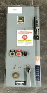 Square D Combination Motor Starter Sca24 10001