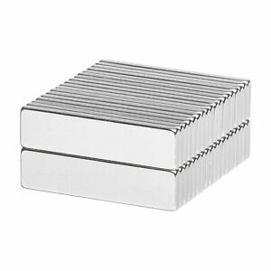 1 X 1 4 X 1 16 Inch Neodymium Rare Earth Bar Magnets N52 36 Pack