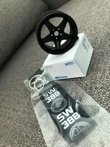 Very Rare Sw388 Spoon Sports Wheels Keychain Civic Ek9 Dc2 Dc5 Eg6 Ap1 Jdm Typer