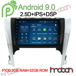 10 1 Dsp Android 9 0 Car Stereo Nav For Toyota Camry 2012 2014 Radio Head Unit