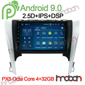 10 1 Ips Android 9 0 Car Stereo Nav For Toyota Camry 2012 2014 Radio Head Unit