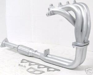 Obx Header For 92 96 Honda Prelude Si 2 3l Exhaust Silver Ceramic Coated