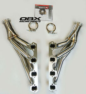 Obx Turbo Manifold Ford 289 302 351 Down Forward Sbf Turbo Header Stainless