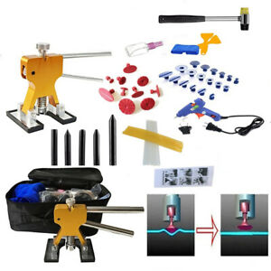 Car Body Slide Paintless Dent Repair Tools Glue Puller Lifter Removal Tool Kit