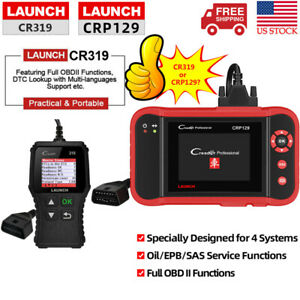 Launch X431 Crp129 Creader Cr319 Obd2 Code Reader Auto Diagnostic Tool Scanner