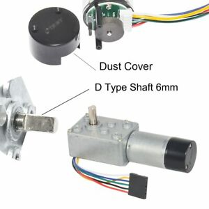Dc Worm Gear Motor With Hall Encoder 12v 3rpm 9rpm 24rpm 45rpm 200rpm Diy Engine
