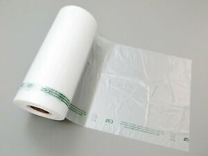 Plastic Bag clear Hdpe Produce Rolls 10 x15 11 Mic 0 44 Mil 3500 Bags case
