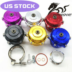 50mm Blow Off Valve Cnc Bov Authentic With V band Flange Without Logo Red
