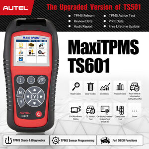 Autel Ts601 Full Obd2 Diagnostic Scan Tool Tpms Check Relearn Sensor Programming