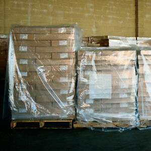 4 Mil Clear Protect Products From Moisture Pallet Industrial Covers Usa 25 case