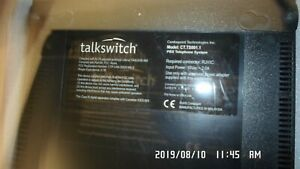 Talkswitch Ct ts001 1 Pbx Telephone System No Ac Adapter