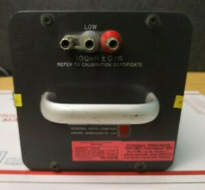 Gr General Radio Company Type 1482 l Standard Inductor 100mh k182b