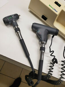 Welch Allyn 767 Wall Transformer With Otoscope 23810 And Opthalmoscope 11820