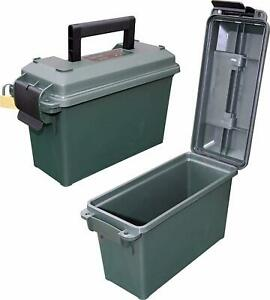 Ammo Can Field Box Storage Ammunition Case 30-Cal Military Plastic Waterproof US