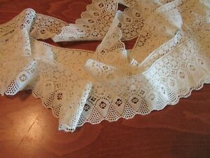 Vintage Lace And Trim For Sewing Dolls Crafts Cream Color 10 Yards