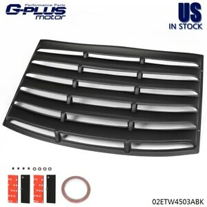 Gplus For 2010 2015 Chevy Camaro Rear Window Windshield Louvers Cover Sun Shade