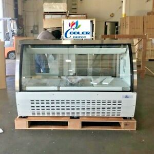 New 65 Commercial Deli Refrigerator Cooler Case Display Fridge Pastry Dc163 Nsf