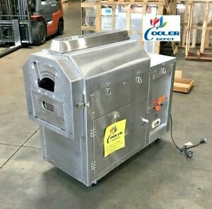 New 28 Lbs Outdoor Coffee Roaster Nuts Bean Roasting Machine Commercial Nat Lp