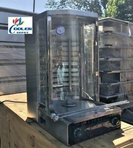 New Commercial Shawarma Machine Rotisserie Broiler Shish Kabab Kebab To3