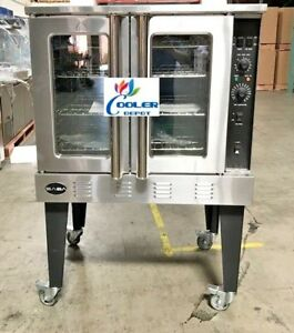 New 38 X 57 Commercial Gas Convection Oven 54 000 Btu Restaurant Kitchen Nsf