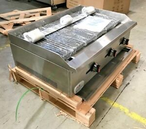 New Radiant Char Broiler Gas Grill 36 90 000 Btu